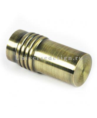 Наконечник 16 мм Цилиндр дорический латунь 2 штуки