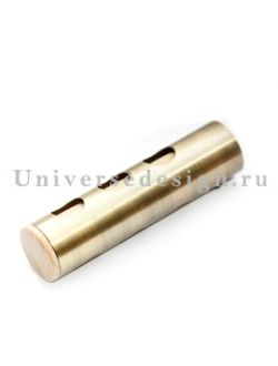 Наконечник 16 мм Цилиндр флейта латунь 2 штуки
