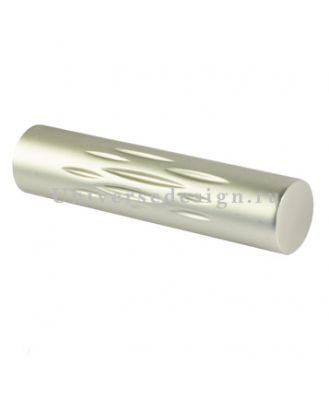 Наконечник 19 мм Цилиндр брызги матовый хром 2 штуки