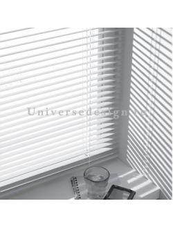 Жалюзи. Пластиковые шторы горизонтальные. Цвет белый