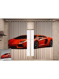 Красная машина DDW 678 - 146