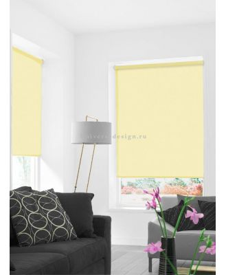 Аделисия 002 Рулонные шторы Ролло желтый